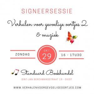 Signeersessie @ Standaard Boekhandel | Diest | Vlaanderen | België