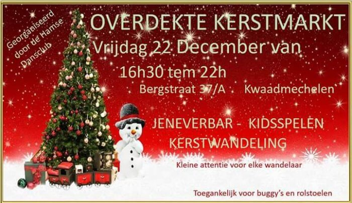 Kerstmarkt Hamse dansclub @ Ham | Vlaanderen | België