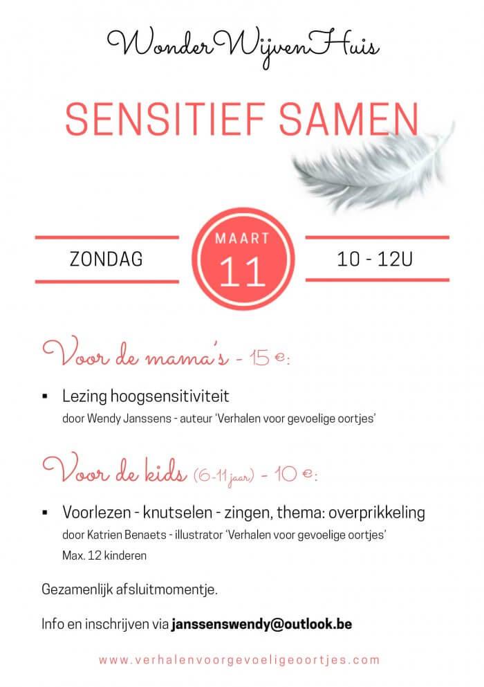 Sensitief samen @ WonderWijvenHuis | Wommelgem | Vlaanderen | België