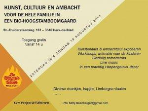 Kunst-, cultuur-, en ambachtenmarkt @ Bio-Hoogstamboomgaard | Herk-de-Stad | Vlaanderen | België