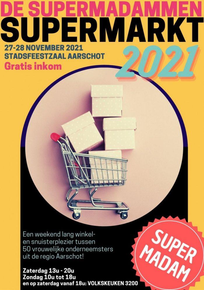 Supermadammen supermarkt @ Stadsfeestzaal
